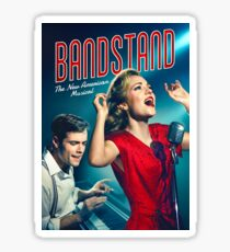 Bandstand poster Sticker