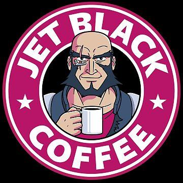 Jet Black Coffee by Adho1982