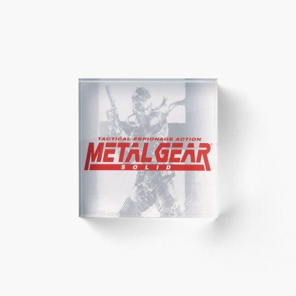Metal Gear Solid  Acrylic Block