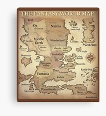 Fantasy Lands Leinwanddruck