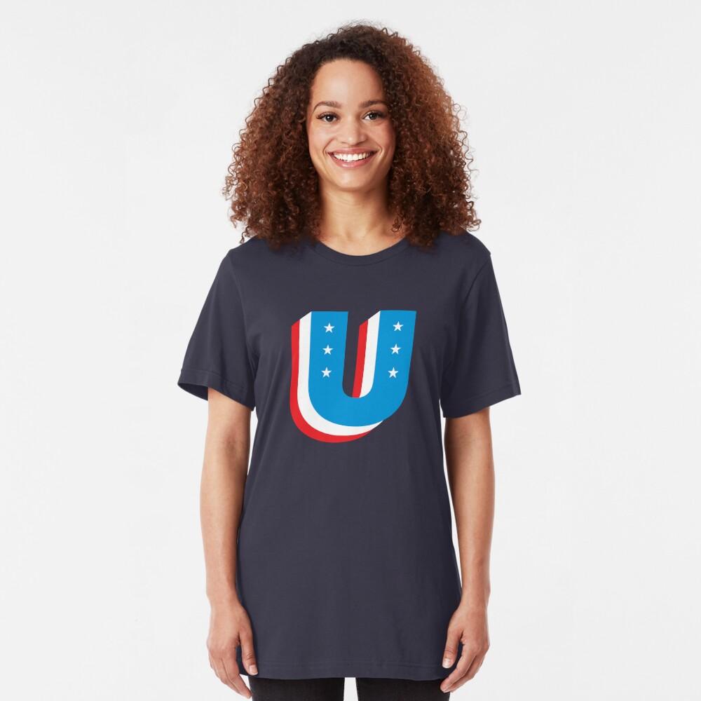 Unity Superhero Letter U Slim Fit T-Shirt