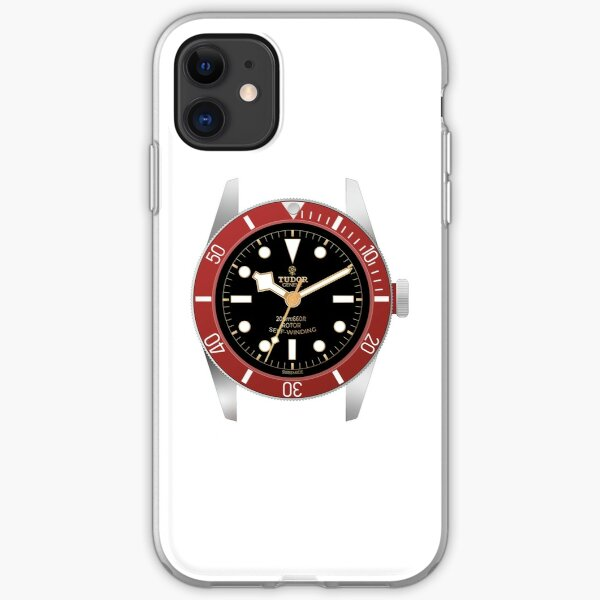 Tudor Watch Black Bay iPhone Soft Case