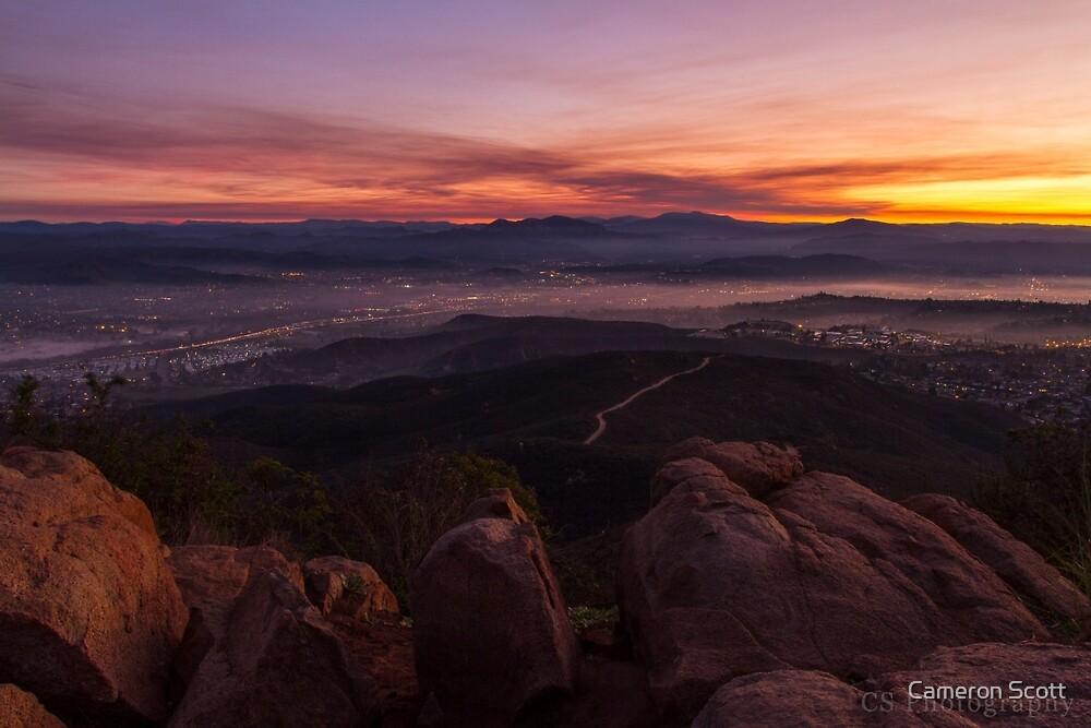 Smokey Sunrise by Cameron Scott