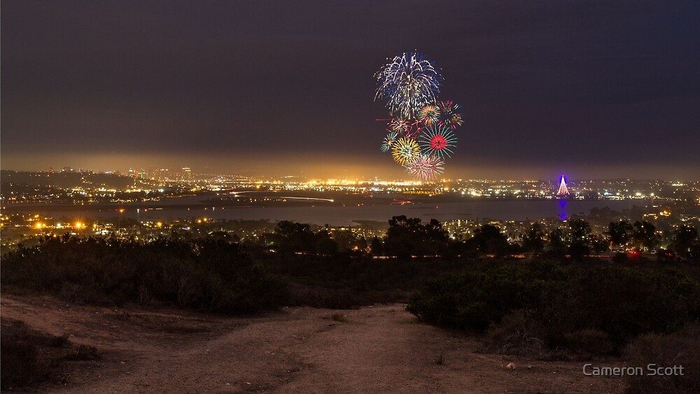 Distant Fireworks by Cameron Scott