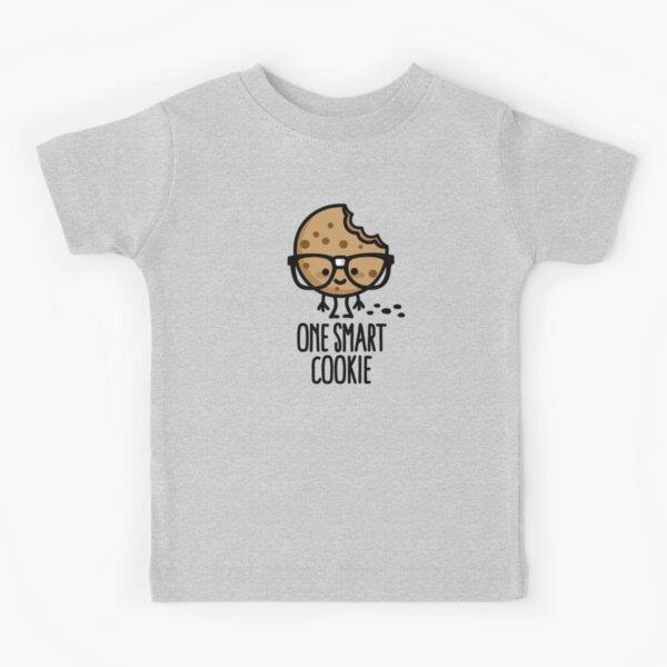 One smart cookie funny nerd geek student school Kids T-Shirt