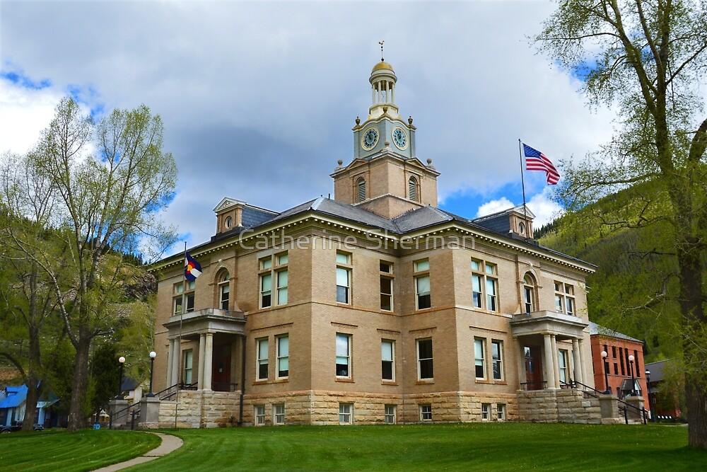 San Juan County Courthouse by Catherine Sherman
