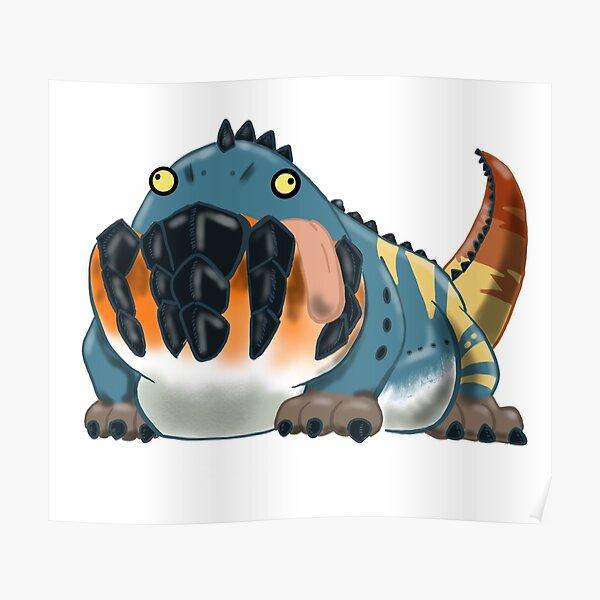 Dodogama Monster Hunter World Poster