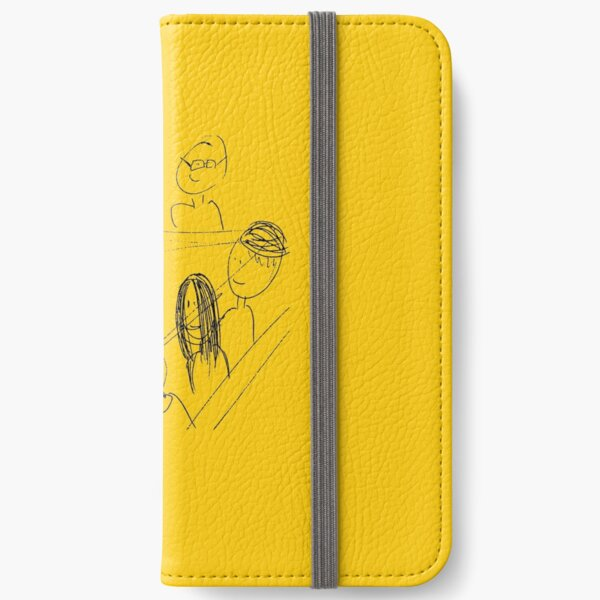 Breakfast With Friends iPhone Wallet