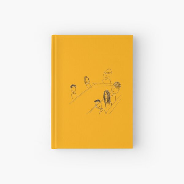 Breakfast With Friends Hardcover Journal