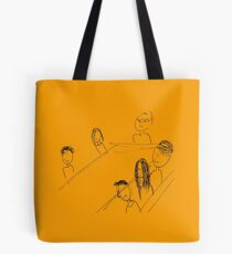 Breakfast With Friends Tote Bag