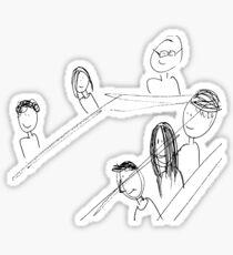 Breakfast With Friends Sticker