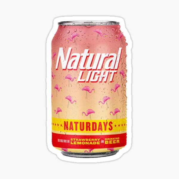 Naturday Sticker
