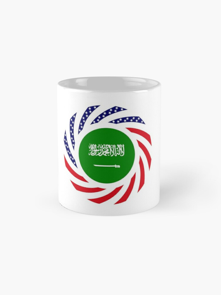 Alternate view of Saudi American Multinational Patriot Flag Series Mug