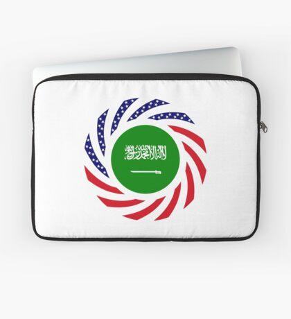Saudi American Multinational Patriot Flag Series Laptop Sleeve