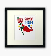 Best Mothers day Tshirts Framed Print