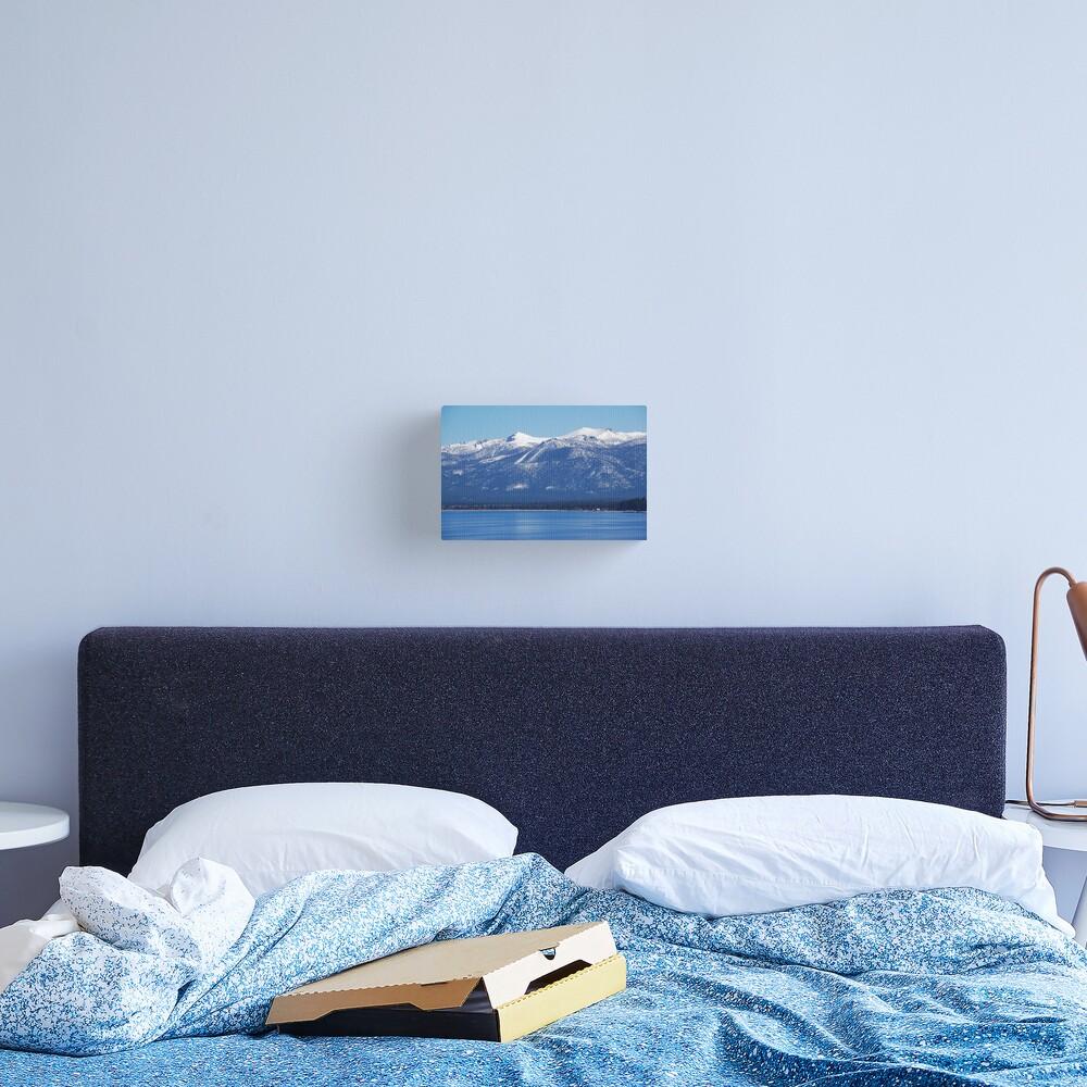 Blue Lake, Blue Sky Canvas Print