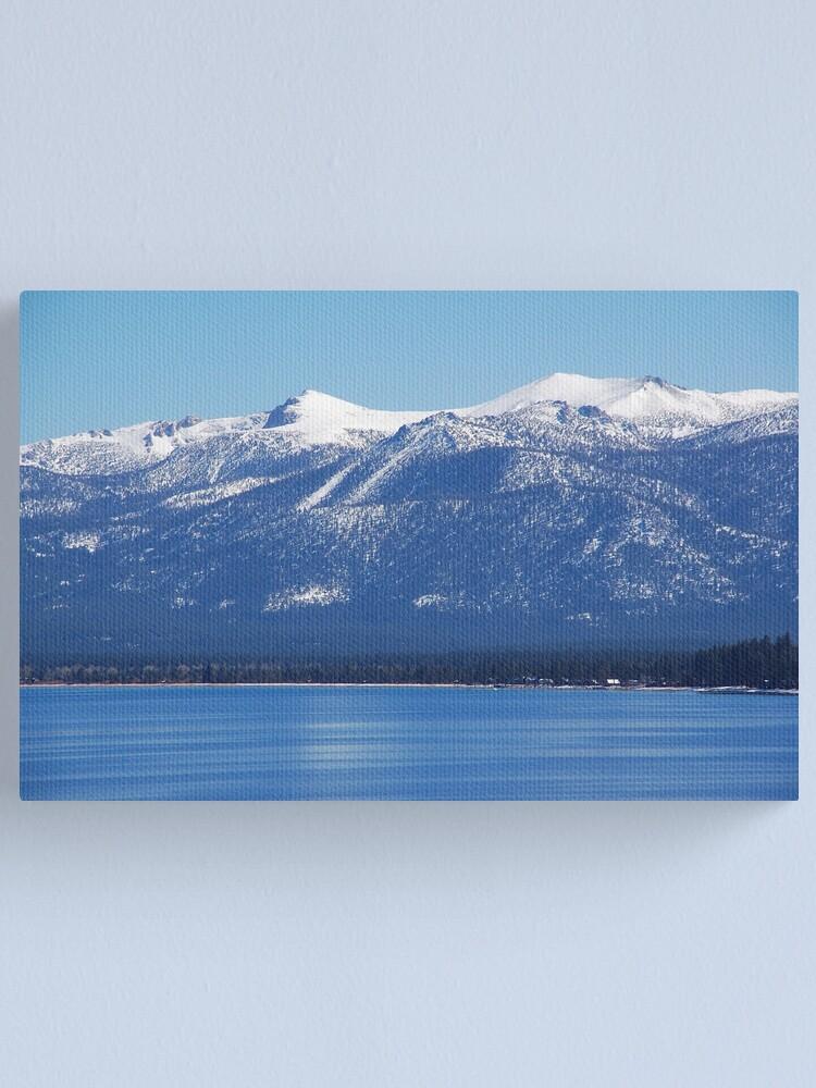 Alternate view of Blue Lake, Blue Sky Canvas Print