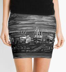 Fishing Fleet Mini Skirt