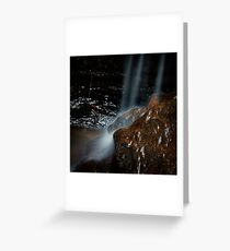 Victory Falls- Hazelbrook, Blue Mountains, NSW Greeting Card