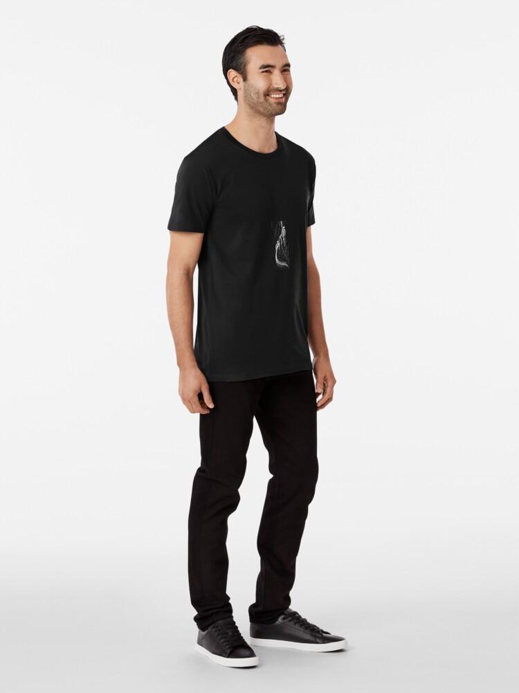 Alternate view of Grab Premium T-Shirt