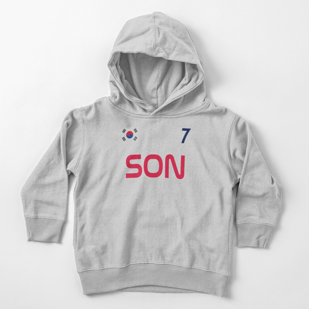 Son Jersey Script Toddler Pullover Hoodie
