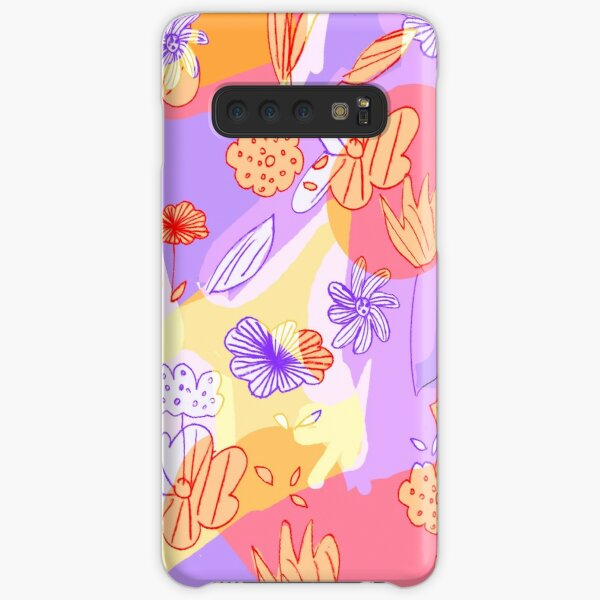 Happy Flowers Samsung Galaxy Snap Case
