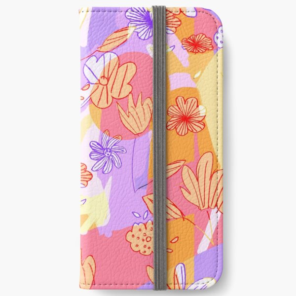 Happy Flowers iPhone Wallet