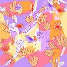 Happy Flowers von JosephineWalz