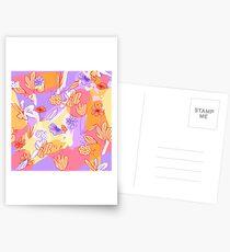 Happy Flowers Postkarten