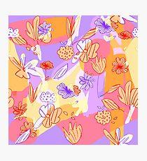Happy Flowers Fotodruck