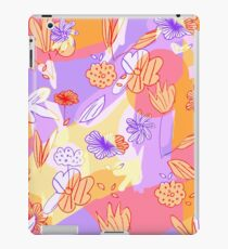 Happy Flowers iPad-Hülle & Klebefolie