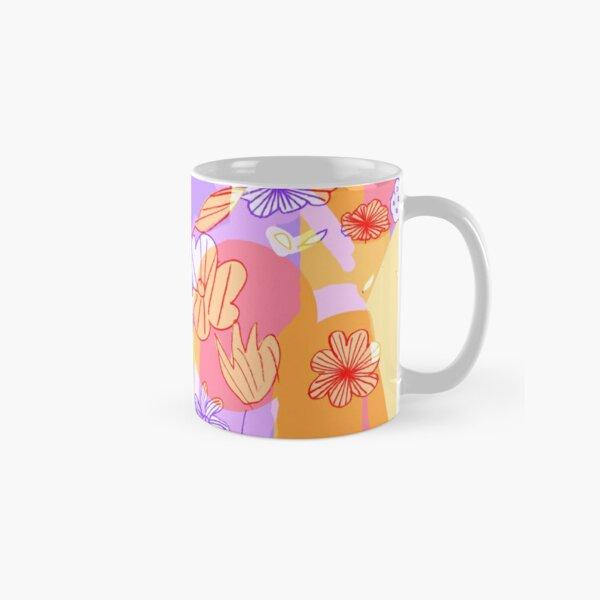Happy Flowers Classic Mug