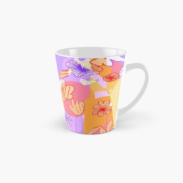 Happy Flowers Tall Mug