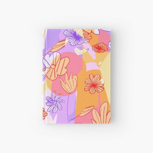 Happy Flowers Hardcover Journal