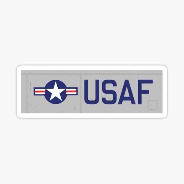 USAF - AIM HIGH Sticker