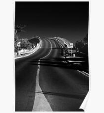 A Black Road Poster