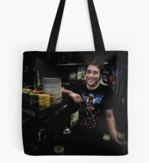 Coffee super hero Tote Bag