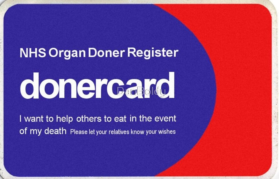 Doner card by DanBoldy