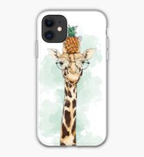 Pineapple Giraffe iPhone Case
