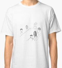 Breakfast With Friends Classic T-Shirt