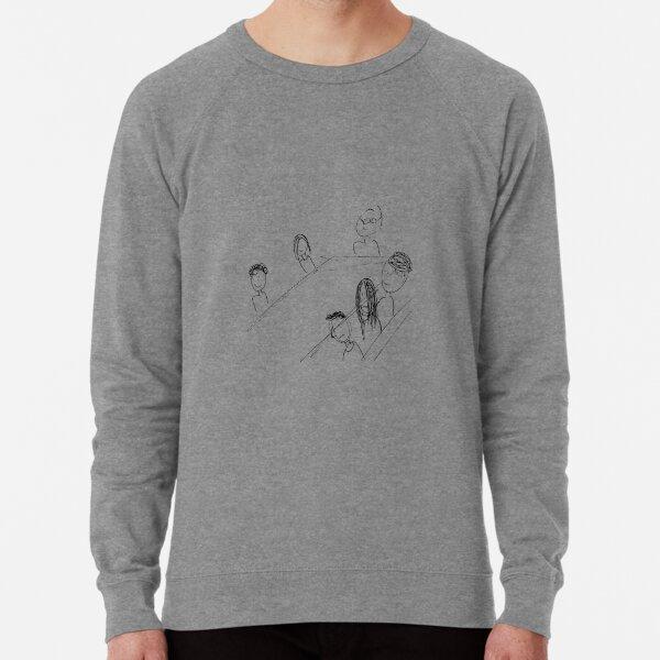 Breakfast With Friends Lightweight Sweatshirt