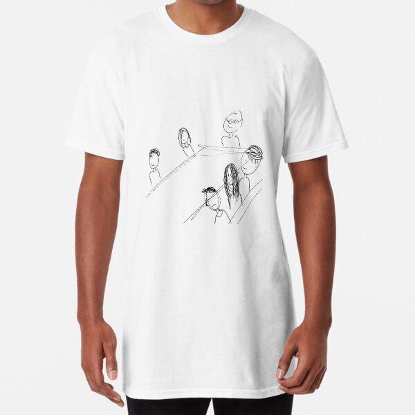 Breakfast With Friends Long T-Shirt