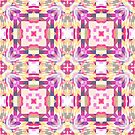 Remix Colorful Mandala 03 by Kelly Dietrich