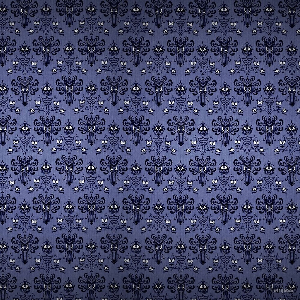 Haunted Mansion Damask by femjess