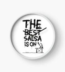 La mejor salsa es on... Reloj
