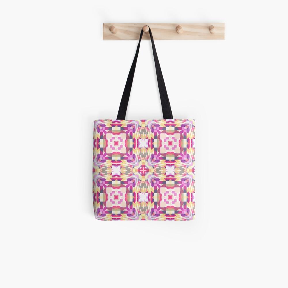 Remix Colorful Mandala 03 Tote Bag