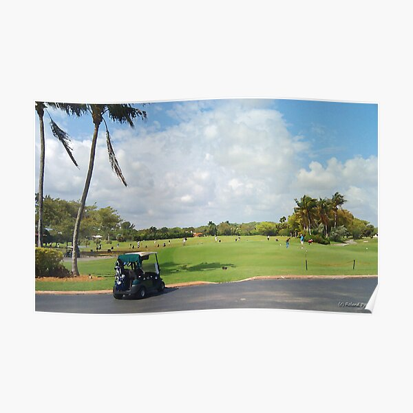 The Golf Car Poster