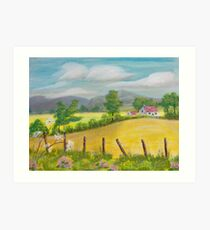 In the cotswolds Art Print