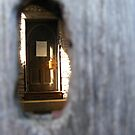 Through the keyhole. by Livvy Young