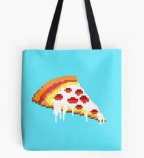 Pizza - 8 bit Tote Bag